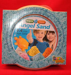 Maro Toys/ Angel Sand/ 0,4 Liter/ Magischer Sand/ 2+/ OVP/ Blau