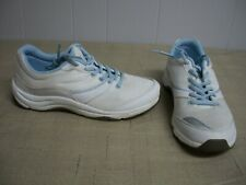 Vionic 1st Ray Tech KONA Walker Lace up White Light Blue Sneakers Shoes Size 8