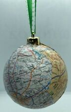 HANDMADE: STATE OF VIRGINIA CHRISTMAS ORNAMENT WITH MAJOR CITIES AND MAP!
