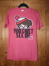 Unisex Red  WHERES WALLY  Slim Fit T Shirt Size Small