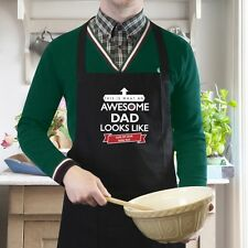 PERSONALISED APRON FATHER GRANDAD BROTHER DAD UNCLE GIFT IDEAS FATHER'S DAY GIFT