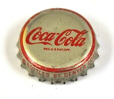 Coca-cola Coke tapita estados unidos soda bottle cap corcho junta-denver margen rojo