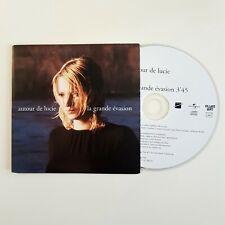 AUTOUR DE LUCIE : LA GRANDE EVASION ♦ CD Single Promo ♦