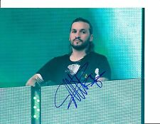 SWEDISH HOUSE MAFIA STEVE ANGELLO SIGNED DJ'ING 8X10