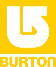 Burton Car, Windscreen, Wall, Mirror, Sticker Decal 190 x 160mm