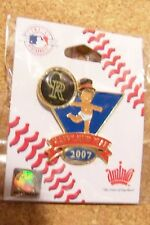 2007 Colorado Rockies Baby New Years pin version 2  defects