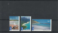 Australia 2010 MNH Australian Beaches 3v Set Bay Fires Hellfire Cape Tribulation