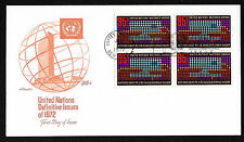 Un Ny #226 95c Letter Changing Hands - Artmaster Fdcb4