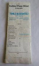1984 Trails Illustrated Kebler Pass West Colorado