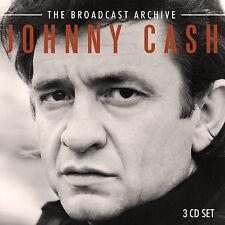 JOHNNY CASH New Sealed 2019 LIVE 1970s CONCERTS 3 CD BOXSET
