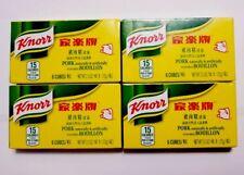 4 Pack of Knorr Pork Bouillon Cubes - Pork Flavor 6 cubes 2.2 oz/pack