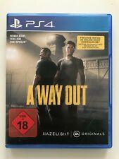 A Way Out für die Playstation 4 (PS4)