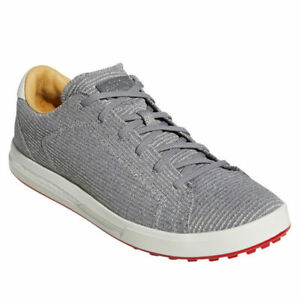 NEW adidas Adipure SP Knit Spikeless Golf Shoe EE9194  Grey / white size 10 M