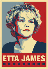 ETTA JAMES - Blues Woman Poster - 3rd in Series