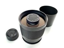 RMC Tokina Tele 500mm 500 mm 1:8 Spiegelobjektiv Mirror lens - Contax / Yashica