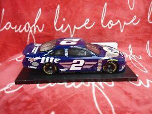 RARE 1: 18 Rusty Wallace #2 MILLER LITE / HARLEY DAVIDSON 1999 Die Cast NASCAR