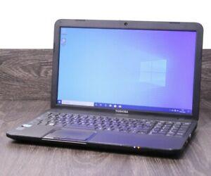 Toshiba Satellite C850 Windows 10 Laptop Intel Core i3 2nd Gen 2.3GHz 4GB 500GB