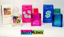 """Andy Warhol Combo Pack miniatures Eau De Toilette Splash 0.17 oz/ 5 ml""""Lot of 3"""""""