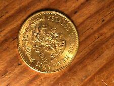 Mexican 1919 20 Pesos Gold Coin .4823 oz. Nice Coin