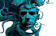 HP Lovecraft -  Wall  Poster 34 in x 22  in ( Fast Shipping )