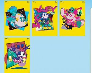 TOPPS DISNEY COLLECT MICKEY MOUSE ANIME POP SUPER RARE FULL SET WITH AWARD
