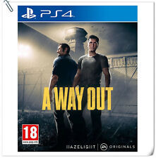 PS4 A Way Out Sony PlayStation Electronic Arts EA Action Games