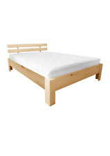 Massivholzbett Fichte 120 x 200 cm / Einzellbett / Kinderbett / Jugendbett