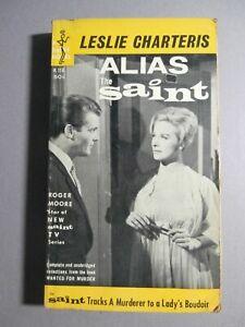 The Saint PB - Alias the Saint - Roger More TV Cover-  Doubleday Inc.