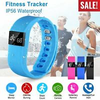 Smart Wrist Band Pedometer Bracelet Watch Sleep Sports Fitness Activity Tracker