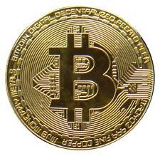 (P116*) - Bitcoin BTC - Coin Münze Silber Gold - Medaille Geschenk Mining - UNC