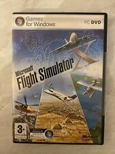 PC DVD Game-Microsoft Flight Simulator X avec Clé de produit x Disques & Instructions