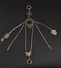 Watch chain, end 19th century / Leontina, finales siglo XIX.
