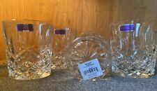"Marquis by Waterford ""Markham Double Old Fashioned) Set Of 4 Model # 165118"