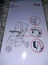 Britax B-Agile Snack Tray Adapter for Single Strollers New in Box 3 Pieces 2011