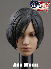 "1/6 Resident Evil Ada Wong Custom Head Sculpt For 12"" Hot Toys Phicen IN STOCK"