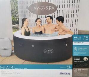 LAY-Z-SPA MIAMI HOT TUB JACUZZI 2021 2-4 PERSON 🌊