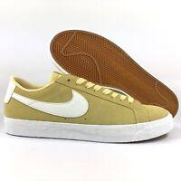 Nike SB Zoom Blazer Low Lemon Wash Yellow Summit White 864347-700 Men's 9-12
