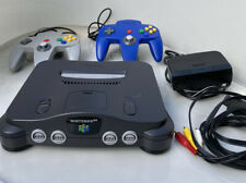 Nintendo 64 Console Bundle with/ 2 Controllers,AV Cables,Memory Card,6 Games N64
