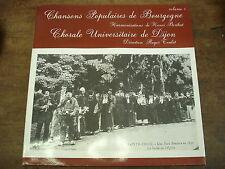 CHANSONS POPULAIRES DE BOURGOGNE volume 1- Chorale de Dijon- LP