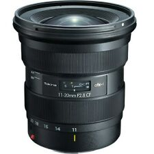 Tokina atx-i 11-20mm f/2.8 CF Ultra-wide zoom APS-C Lens for Canon EF