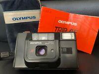 Vintage Olympus Trip AF Film Camera with original case & instruction manual!