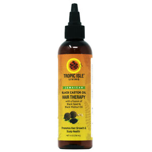 Tropic Isle Living Jamaican Black Castor Oil Hair Therapy 4oz w/FREE Nail File