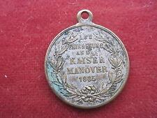 """Medaille""""Wilhelm I.Deutscher Kaiser Manöver 1885"""""""