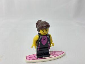 Lego Minifigure Series 4 SURFER GIRL