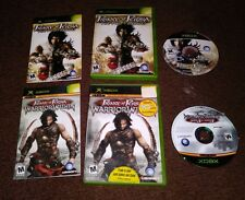 Prince of Persia: Warrior Within + The Two Thrones Microsoft Xbox, 2004 Freeship