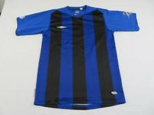 Umbro Mens Blue & Black Youth Soccer Utah #9 Jersey Size Small Futbol Shirt Cool