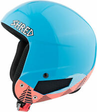 Shred Ski Helmet Snowboard Helmet Blau Timber x-Static Slytech Custom Kit