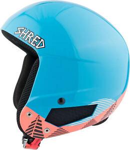 Shred Ski Helmet Snowboard Helmet Blau Timber x-Static Slytech Custom Kit