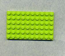 Lego-- 3033 -- Grundplatte -- Bauplatte --- Grün/Lime -- 6 x 10 --