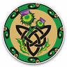 2 x Vinyl Stickers 7.5cm - Celtic Thistle Scotland Cool Gift #4072